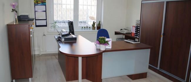 Urzędowe biuro z nutką nowoczesności