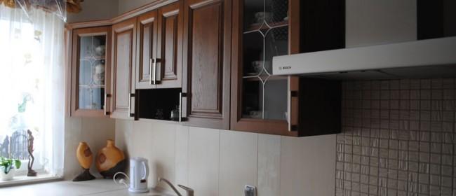 Kuchnia drewniana z umiarem